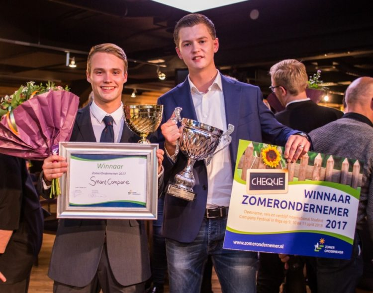 Vincent Vos ZomerOndernemer winnaar 2017
