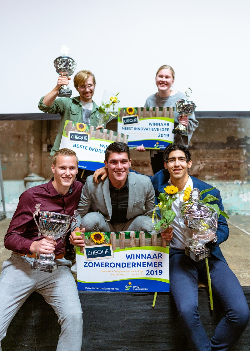 Winnaars ZomerOndernemer 2019 - Nordy Visser